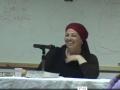 הקול הפנימי של האשה - הרבנית הדסה עובד - יום ראשון - 31.8.14